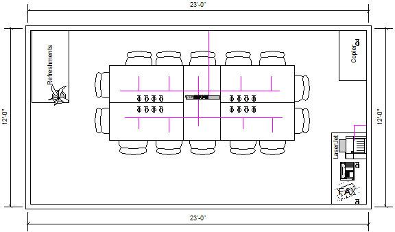 Room diagram for Room design diagram