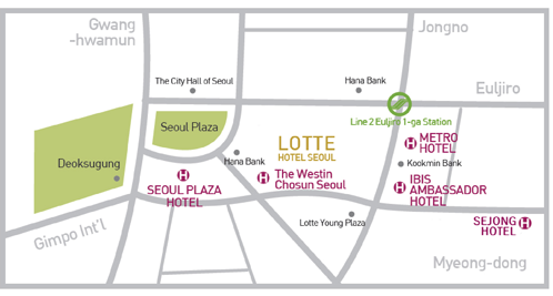 Maps   Seoul Map Hotel on resort map, cafeteria map, in a map, guam map, airstrip map, statue map, city map,