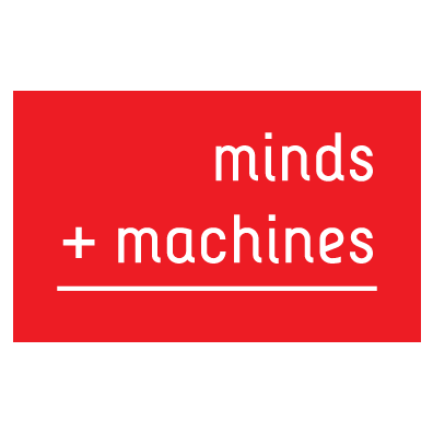 Image result for minds and machines logo